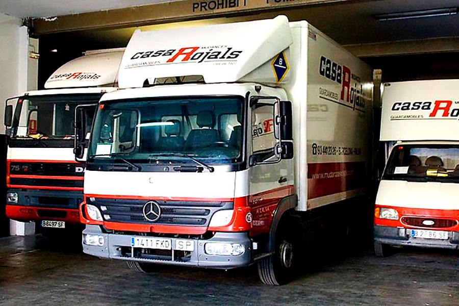 Las ventajas que aportan los camiones de mudanza