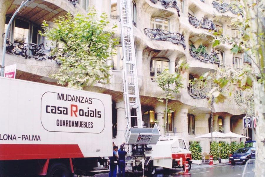 Listado de tareas antes de mudanzas en Barcelona
