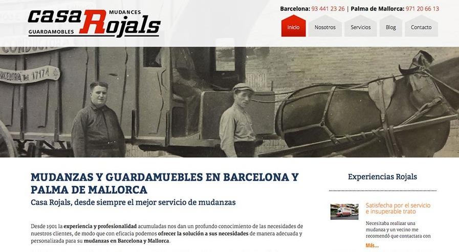 Mudanzas Barcelona y Palma de Mallorca | Mudanzas Casa ROJALS